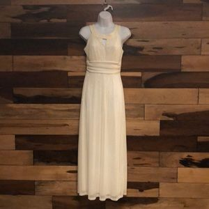 Dresses & Skirts - Beautiful off white Gown with gold glittering